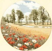 Summer Meadow - Evenweave - Heritage Cross Stitch Kit