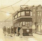 Tram Stop - Evenweave - Heritage Cross Stitch Kit