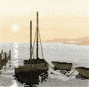 Safe Harbour - Evenweave - Heritage Cross Stitch Kit