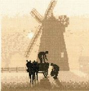 Heritage Windmill - Evenweave Cross Stitch Kit
