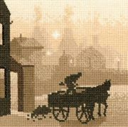 The Coalman - Evenweave - Heritage Cross Stitch Kit