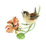 Simply Wren - Evenweave - Heritage Cross Stitch Kit
