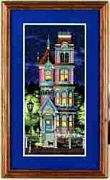 Sunset Victorian Charm Cross Stitch Kit