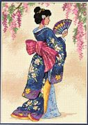 Elegant Geisha - Dimensions Cross Stitch Kit