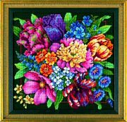 Dimensions Floral Splendour Tapestry Kit