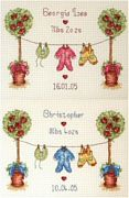 Birth Sampler - Anchor Cross Stitch Kit