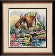 Anchor Lakeside Cottage Cross Stitch Kit