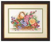 Anchor Floral Basket Cross Stitch Kit