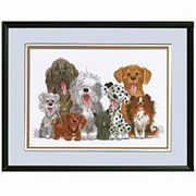 Janlynn Dogs of Duckport Cross Stitch Kit