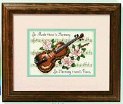 Dimensions Music is Harmony Cross Stitch Kit