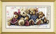 A Row of Love - Dimensions Cross Stitch Kit