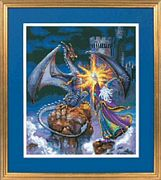 Magnificent Wizard - Dimensions Cross Stitch Kit