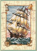 Voyage at Sea - Dimensions Cross Stitch Kit